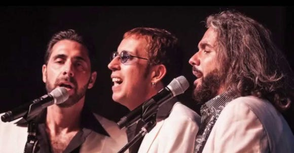 Bee Gees Gold do their Bee Gees tribute Jan. 4 and 5 at The Point Casino in Kingston.
