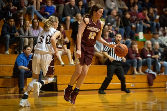 Flour Bluff plays Tuloso-Midway at Flour Bluff on Friday, Dec. 21, 2018.