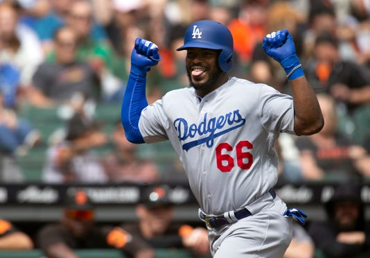 Mlb Los Angeles Dodgers At San Francisco Giants