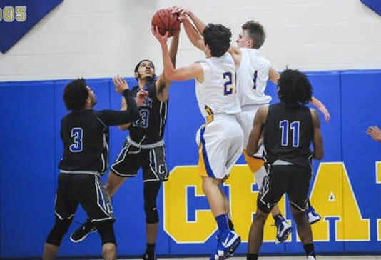 Carteret Spotswood boys basketball