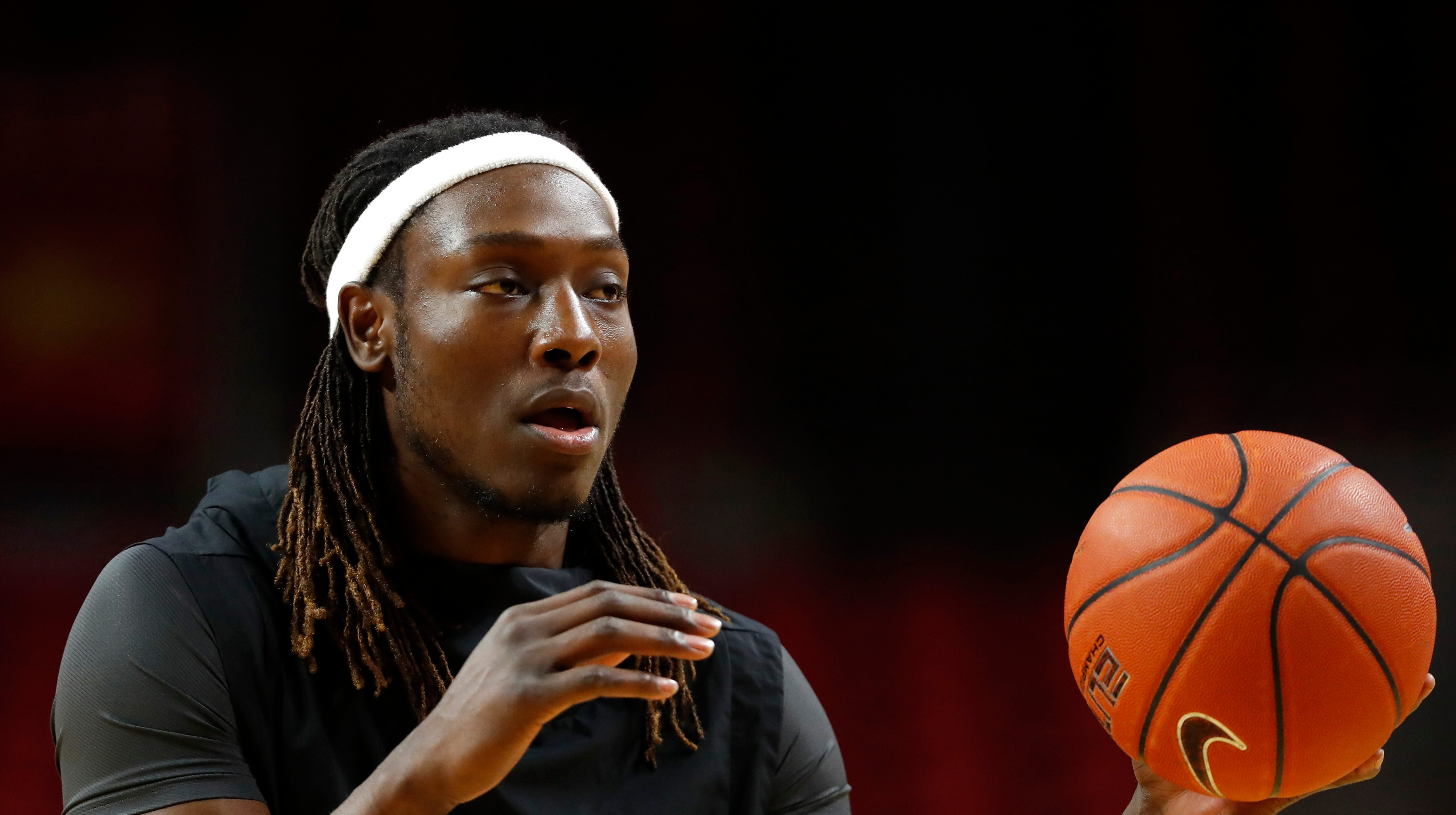 NCAA Tournament: Solomon Young trying to have an impact for the Cyclones, but from the sidelines