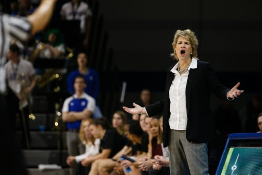Iowa coach Lisa Bluder has her team competing for a Big Ten title.