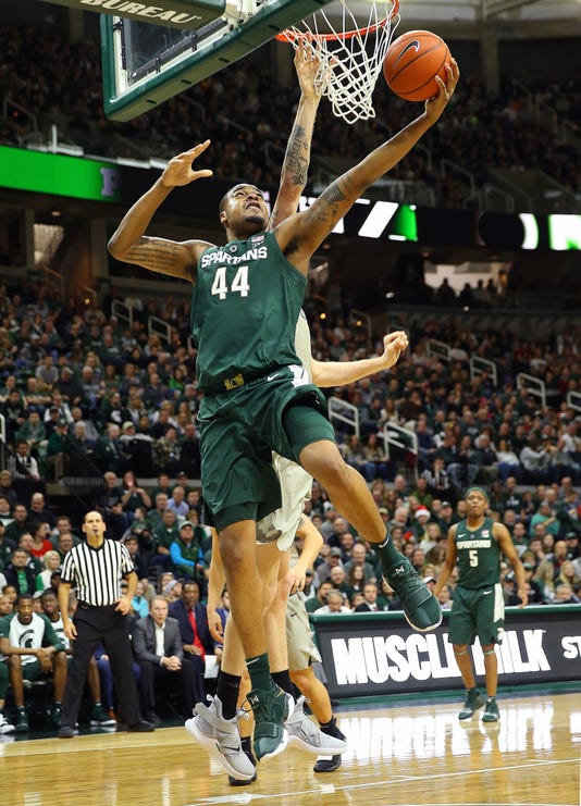 Ncaa Basketball Oakland At Michigan State