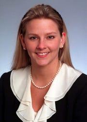 1999 photo of Jennifer Faunce when she was in the state legislature.