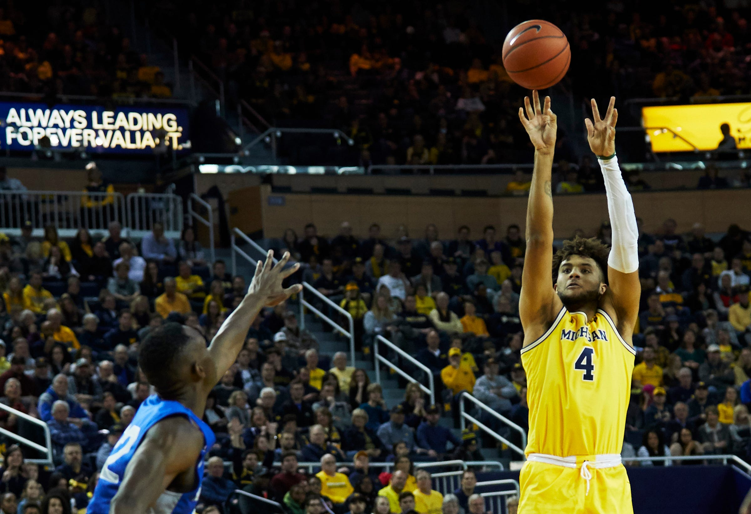 Ncaa Basketball Air Force At Michigan