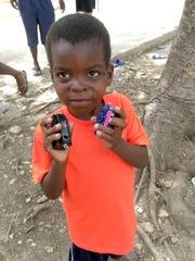 Gaelson Augustin in Haiti