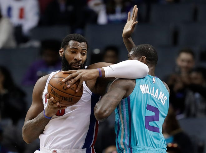 Pistons center Andre Drummond has played in 443 of the last 449 games.