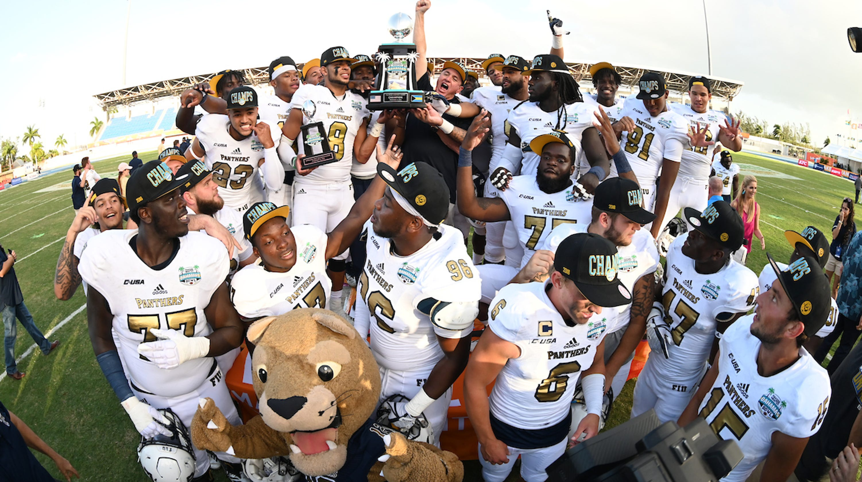0bf245d16 Friday s football  Shooting victims lead FIU past Toledo in Bahamas Bowl
