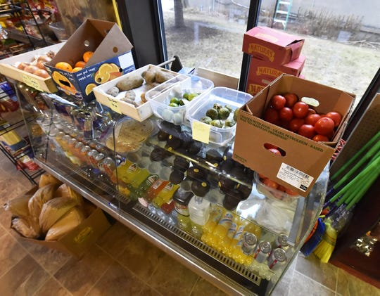 Fresh produce and Mexican beverages are among the goods available at El Dorado Express.
