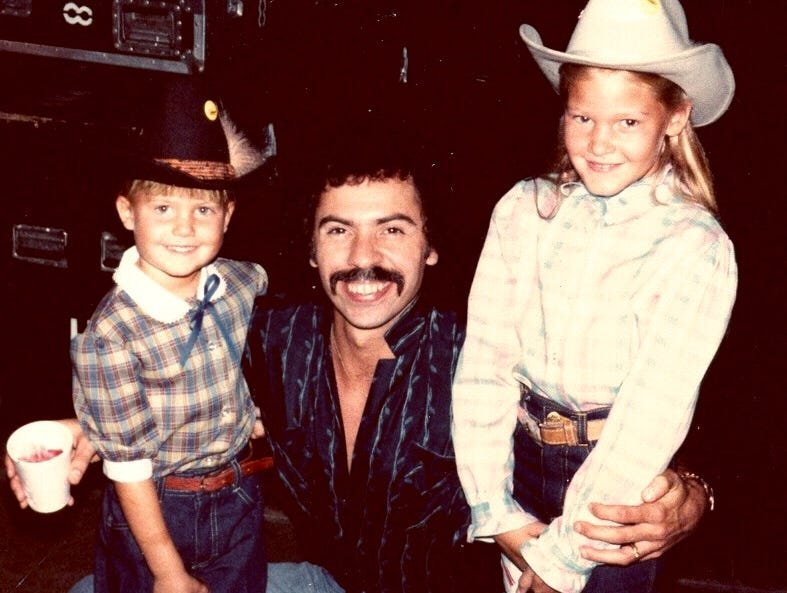 From the family photo album: Ginger Rough's special friendship with The Oak Ridge Boys
