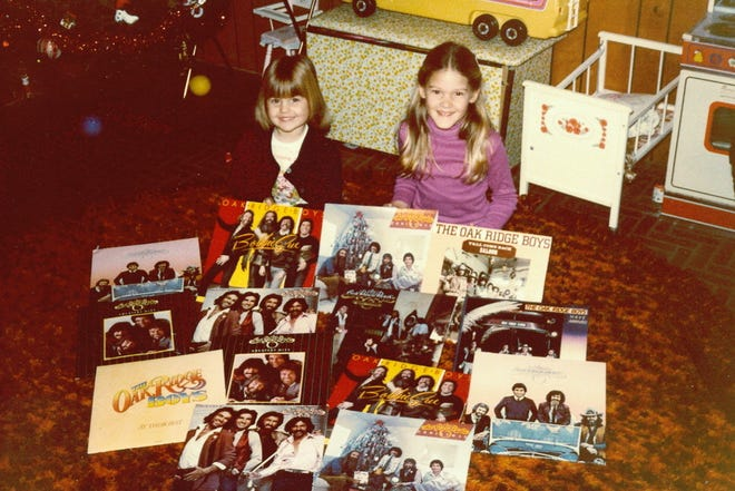 Author Ginger Rough and her sister, Kristen Hellmer, were huge fans — and ultimately became friends — with The Oak Ridge Boys and collected all of their albums.
