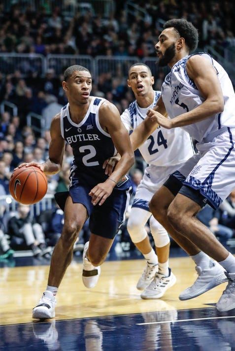 Uc Irvine Takes On Butler At Hinkle