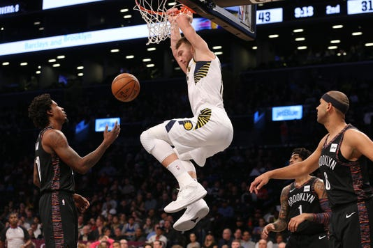 Nba Indiana Pacers At Brooklyn Nets