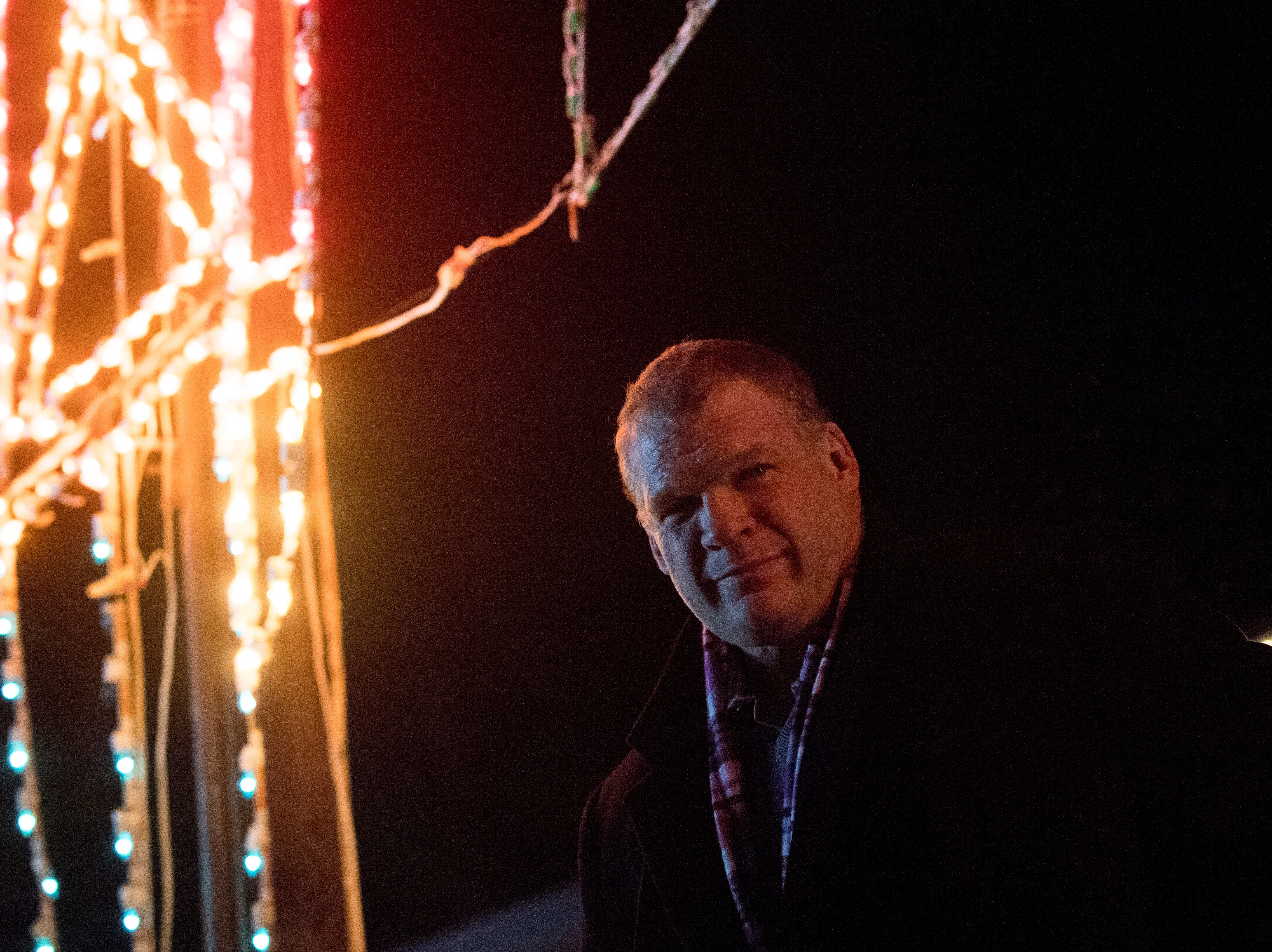 Knox County Mayor Glenn Jacobs attends the Knox CountyÕs 20th annual Holiday Festival of Lights will kick off at The Cove at Concord Park in Farragut, Tennessee on Friday, December 21, 2018. The family-friendly event is free and will run through Dec. 29 from 6 to 9 p.m., excluding Christmas Eve and Christmas Day.