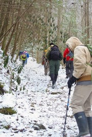 Go for a nature hike Saturday at Sharon Woods.