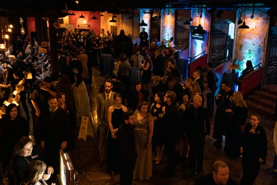 Harry Potter fans enjoyed a themed party at the Palace Theatre on Friday night during the Yule Ball. 12/21/18