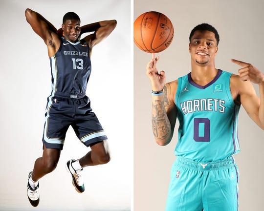 Jaren Jackson Jr. and Miles Bridges were both lottery picks in the 2018 NBA draft.