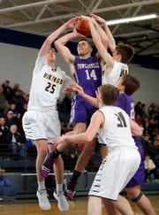 Geoff Knaggs (14) is one of four Fowlerville players to have a 20-point game this season.