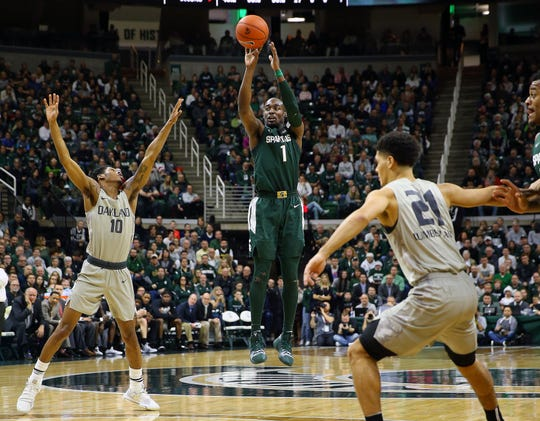 Joshua Langford has missed four straight Big Ten games with a mysterious ankle injury. He was averaging 16 points per game.