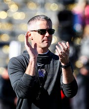 Memphis head coach Mike Norvell prepares to take on Wake Forest in the Birmingham Bowl football game Saturday, December 21, 2018 in Birmingham.