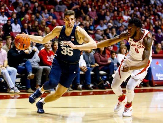 Ncaa Basketball Penn State At Alabama