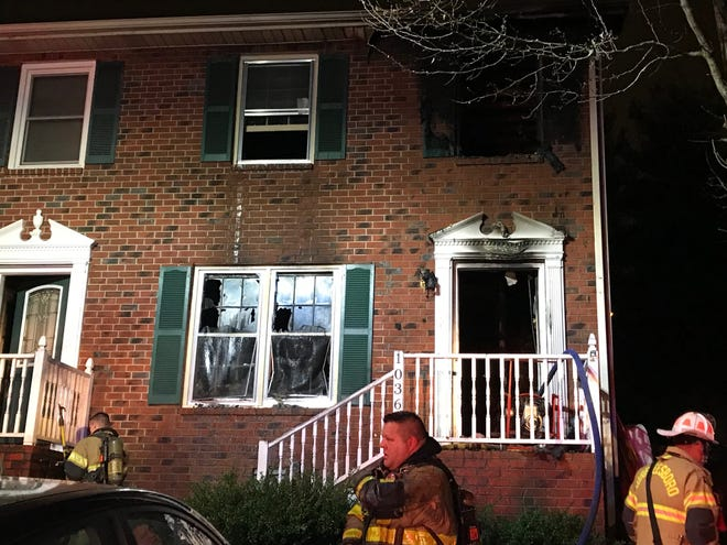 Murfreesboro Fire Rescue Department responded to a two-story duplex fire in the 1000 block of Silver Court just before 6 p.m. Friday evening.