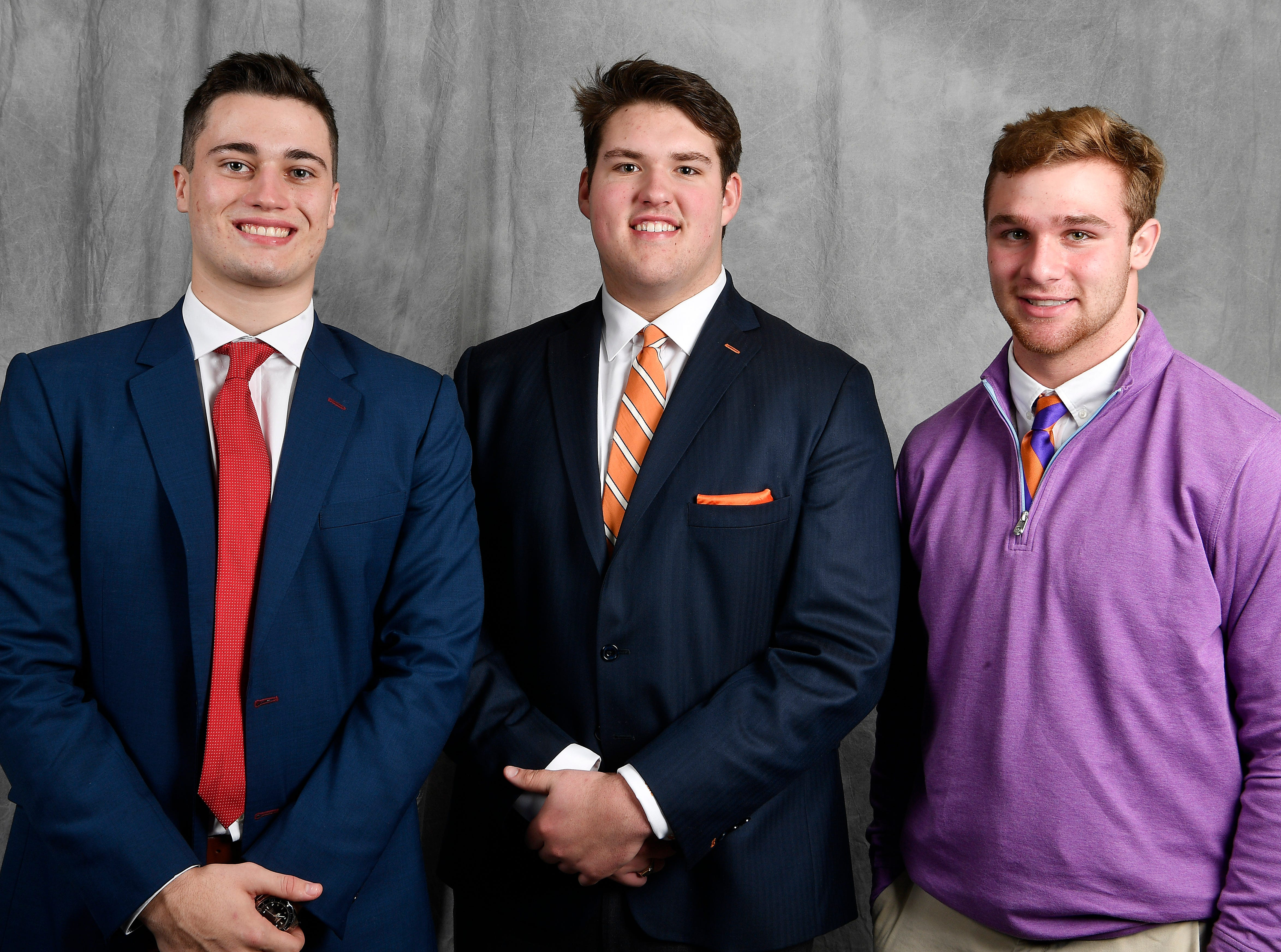 Members of the Tennessean's Dandy Dozen include MBA's Jackson Hannah, MBA's Jackson Lampley and Clemson's Kane Patterson.