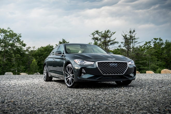 The G70 is the third of six new Genesis models to debut by 2021, and the final sedan of the lineup. As the first Genesis model in the highly competitive entry-level luxury segment, the G70 stands out among luxury sport sedans with its driver-focused performance.