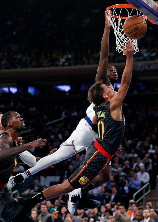 Hawks Knicks
