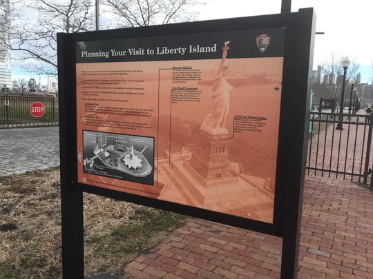 Liberty State Park was unaffected by the shutdown on Dec. 22, 2018. Only the nearby monuments -- Ellis Island and the Statue of Liberty -- were at risk.