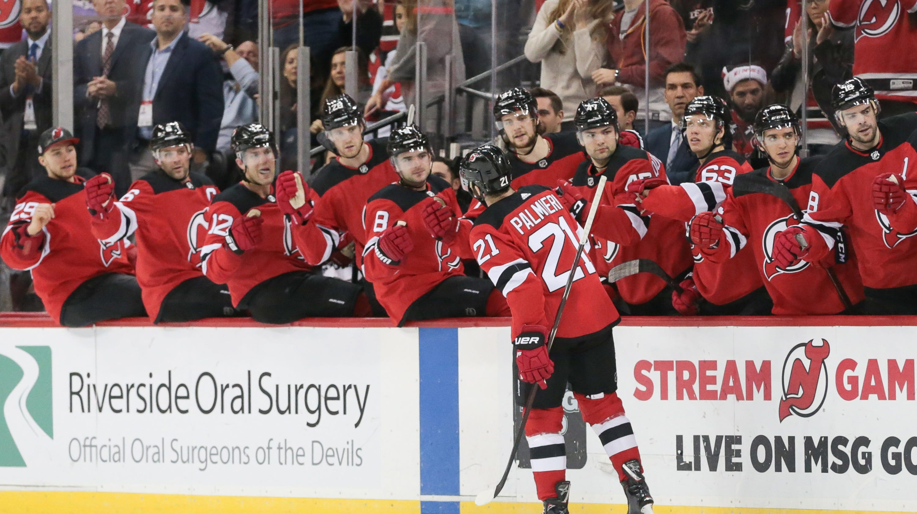 deda3cdf54f NJ Devils go the way of the top line and other takeaways from win over Sens