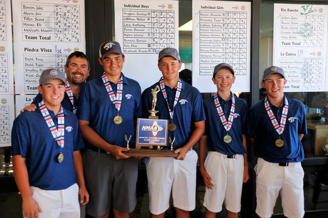 After coming up short in 2017, the Piedra Vista boys golf team won its first state championship on May 8 at Piñon Hills Golf Course in Farmington. PV's journey toward winning the blue trophy was among the top San Juan County sports stories of 2018.