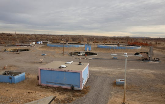 The Navajo Tribal Utility Authority operates a wastewater treatment plant on 65 acres in Shiprock.