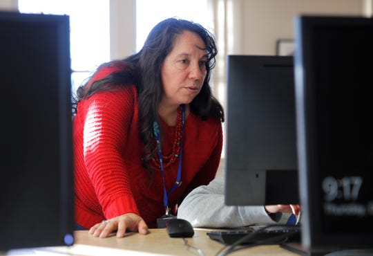 Navajo Preparatory School teacher Donna Fernandez has been teaching at the school for eight years and earned the National Board Certification this month.