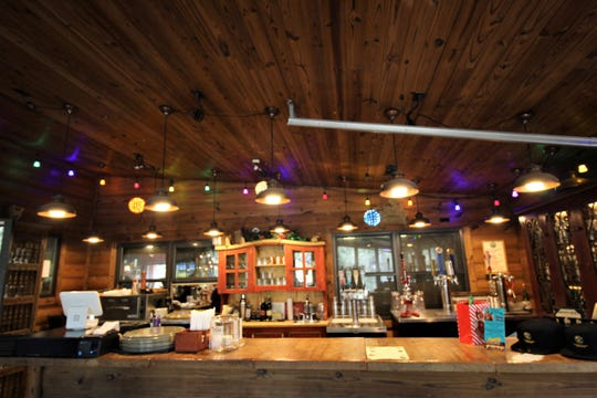 Sacred Grounds Lounge is being decorated and stocked in preparation fro the New Year's Eve Dinner/Dance Party.