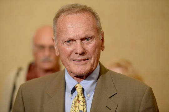 Actor Tab Hunter attends Hollywood Foreign Press Association's 2013 Installation Luncheon on Aug. 13, 2013, in Beverly Hills, California.