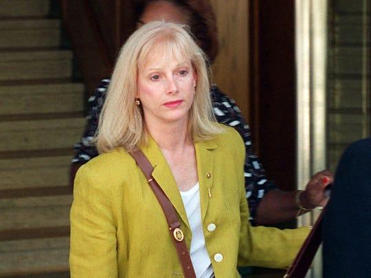 Sondra Locke is seen on Sept. 11, 1996.