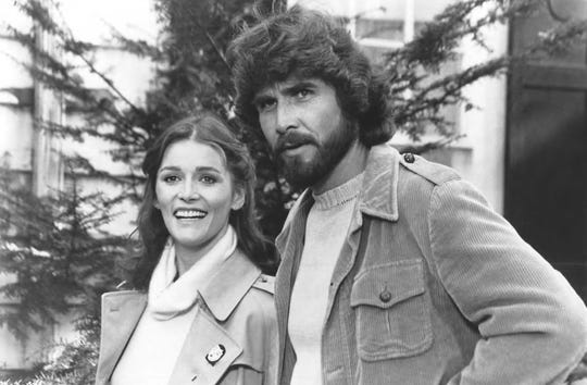"Margot Kidder and James Brolin starred in 1979's ""The Amityville Horror."""