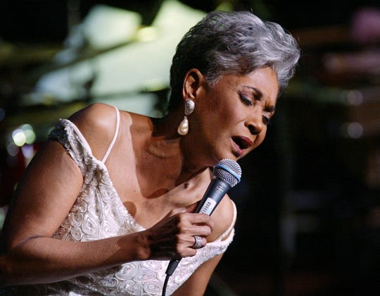 Grammy Award winner Nancy Wilson performs on Jan. 13, 2003, in New York City.