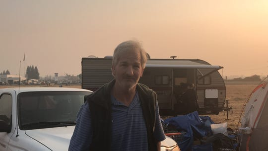 Randy Greb, 61, lost his home in the Camp Fire in Northern California that stands as the deadliest U.S. fire in nearly 100 years, killing at least 85 people and leaving thousands homeless or displaced.