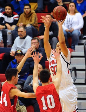 Jean Carlos Gonzalez pumped in 17 points in Lebanon's win over Penn Manor on Friday.