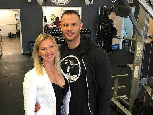 Ewa Hlebowicz and Kyle Glickman open GlickFit.