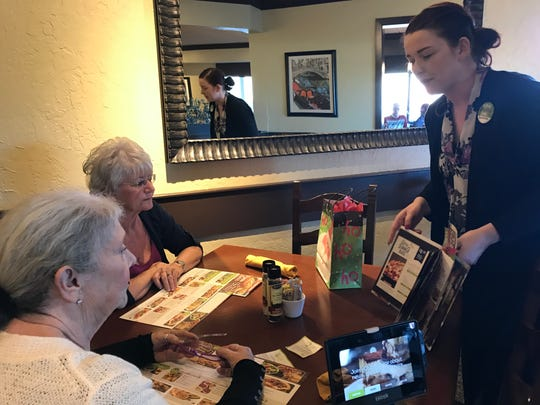 Carolyn Johns, the new general manager, Olive Garden Restaurant in Redding.