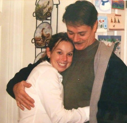 Jaime and her dad, Gary Baranyai.