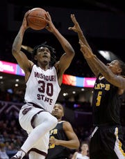 Missouri State junior Tulio Da Silva is shooting 66 percent on 2-pointers this MVC season.