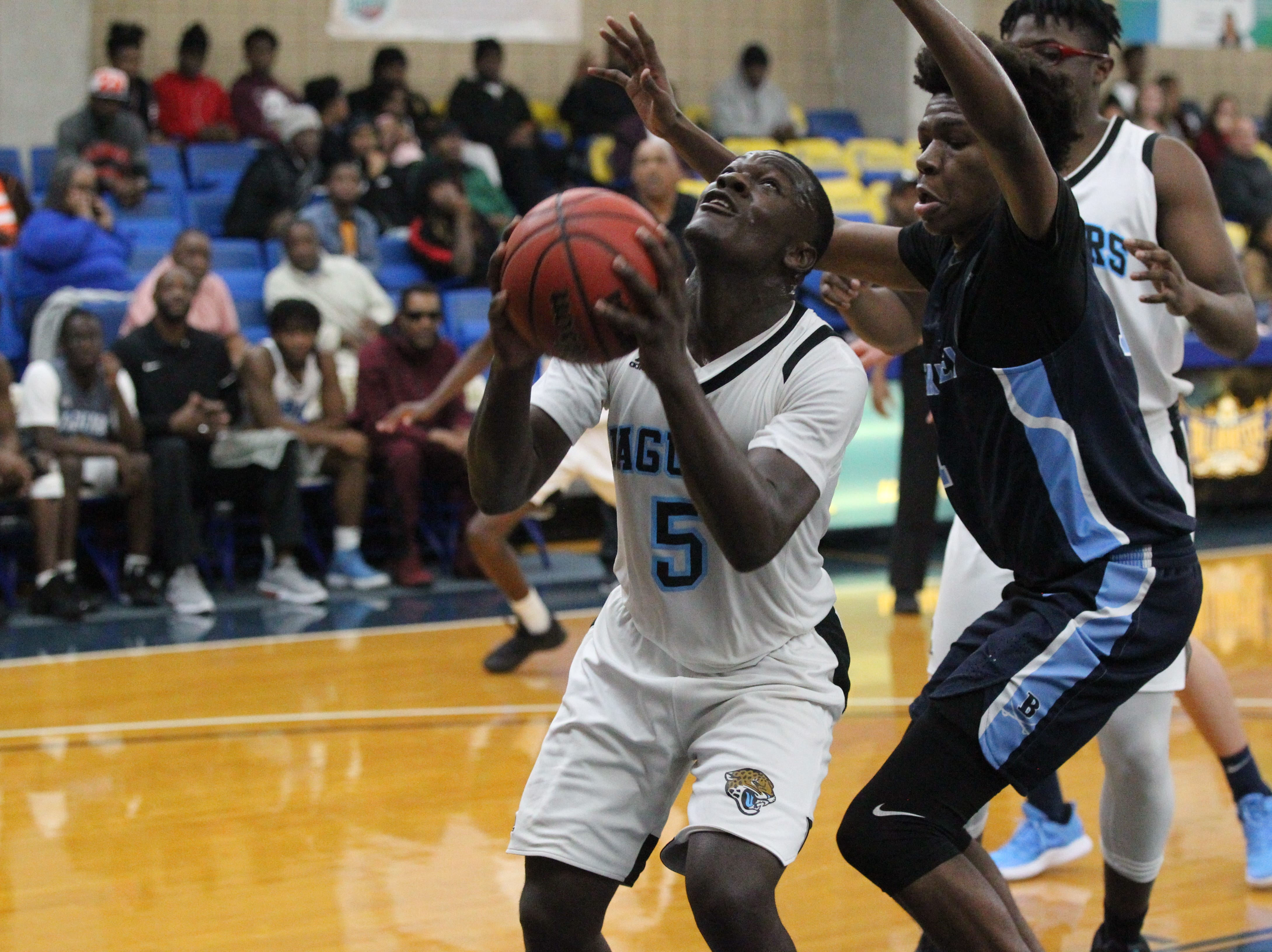 Gadsden County plays Berkeley Prep during the 2018 Capital City Holiday Classic at TCC.