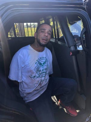 Authorities in two counties chased down a man wanted for domestic battery and grant theft auto. The chase went from Stuart to St. Lucie County.