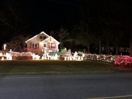 Carol Trimnell of 1429 E. Elmer Road placed third in the City of Vineland's 2018 David DiGiovacchino Holiday Lighting Contest.