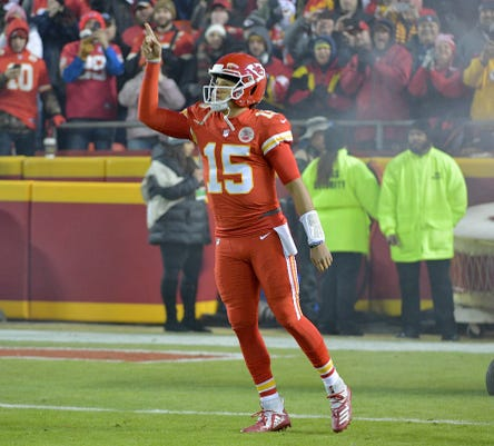 Nfl Los Angeles Chargers At Kansas City Chiefs
