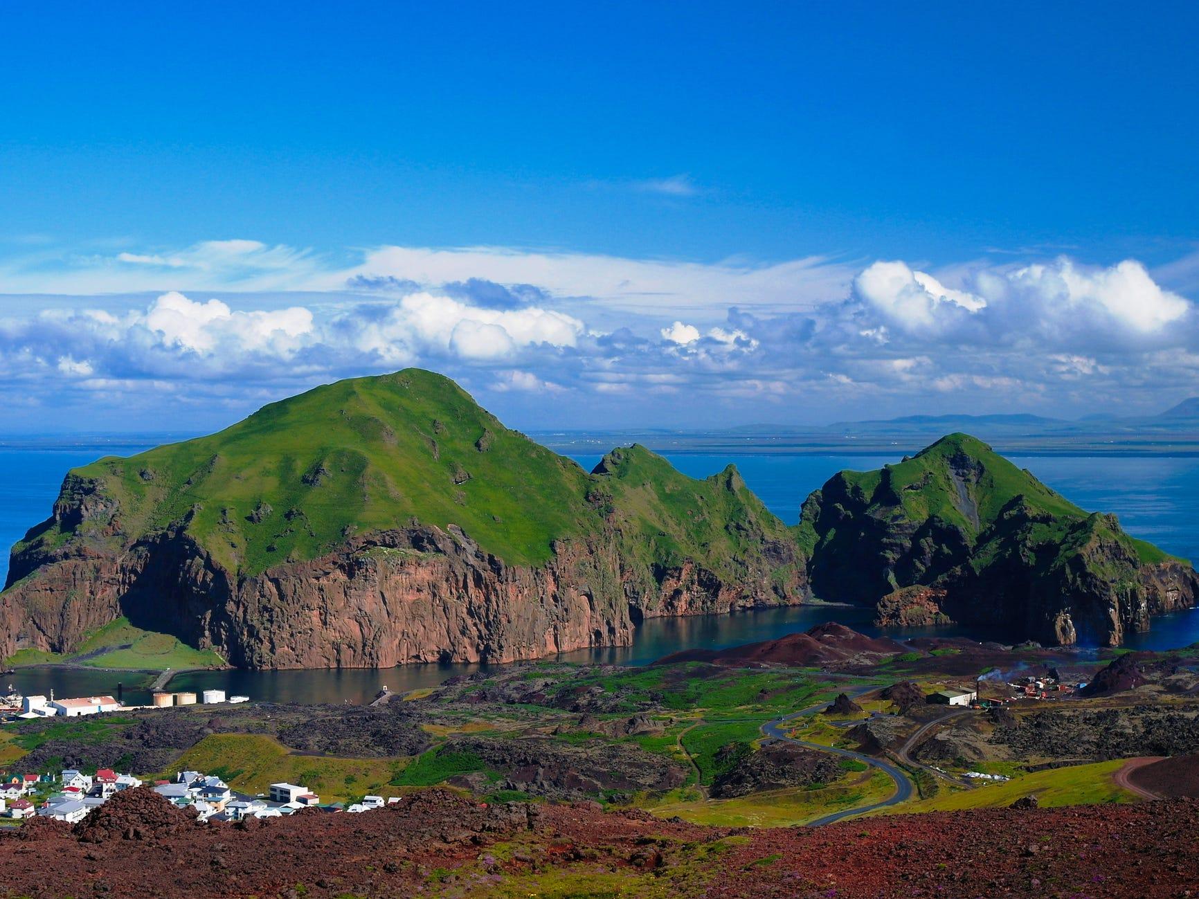Heimaey, Iceland.